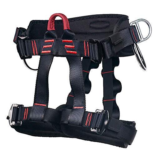 Arnés de Escalada Proteger Pierna Cintura Más Seguro,Arneses de Escalada Cinturones de Seguridad para Mujer y Hombre para Montañismo Alpinismo Expedición Escalada en Roca (Arneses.)