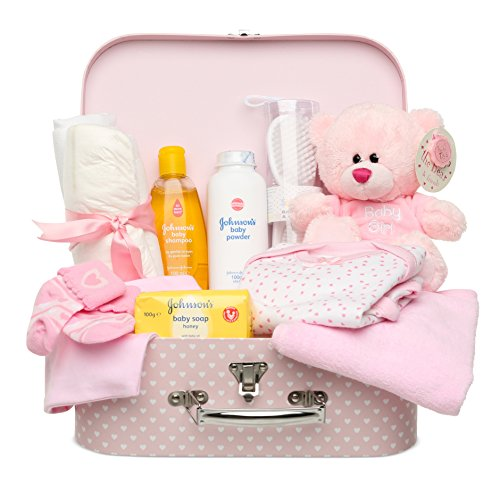 Bebé caja y Set de regalo rosa rosa Talla:largo