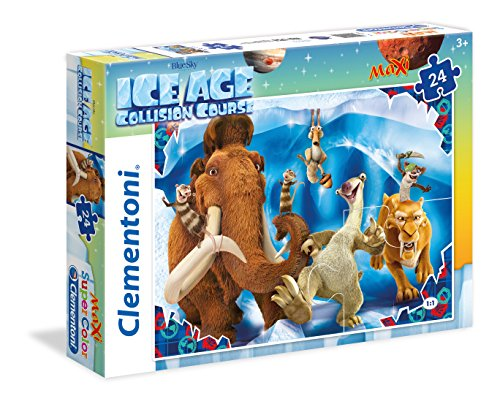 Clementoni 055 - Puzzle Maxi Ice Age 5, 24 Pezzi