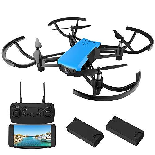 REDPAWZ R020 Blast WiFi Drone con Telecamera Pieghevole FPV HD 1280*720P App Controllo Grandangolare Selfie modalità di Attesa in Altitudine 2pcs Batterie Altitude Hold modalità Selfie One Key Start