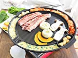 Korean Style BBQ Poke Velly, Samgyeopsal, Non-Stick All powerful Stovetop Grill Pan