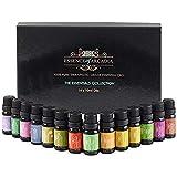TOP 14 Set de lujo con los 14 principales aceites esenciales para aromaterapia 100% puros (10ml),...