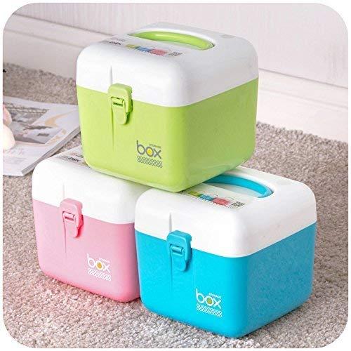 Skyzone Plastic Portable Large Medical Kit Storage Box(Multicolour)