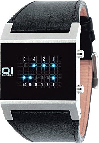 The One Herren-Armbanduhr digital Quarz KERALA TRANCE KT102B1
