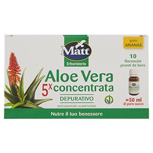 Matt Integratore Alimentare di Aloe Vera - 100 ml