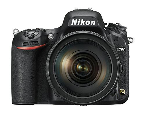 "Nikon D750 - Cámara réflex digital de 24.3 Mp (pantalla 3.2"", vídeo Full HD), color negro - Solo cuerpo"