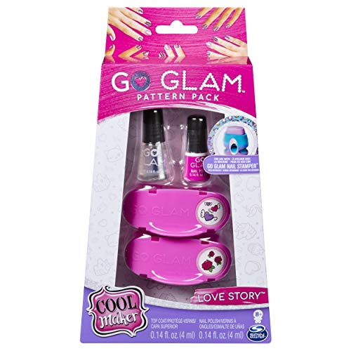Cool Maker Go Glam - Confezione Ricarica Smalti e Decorazioni Love Story Per 50 Unghie