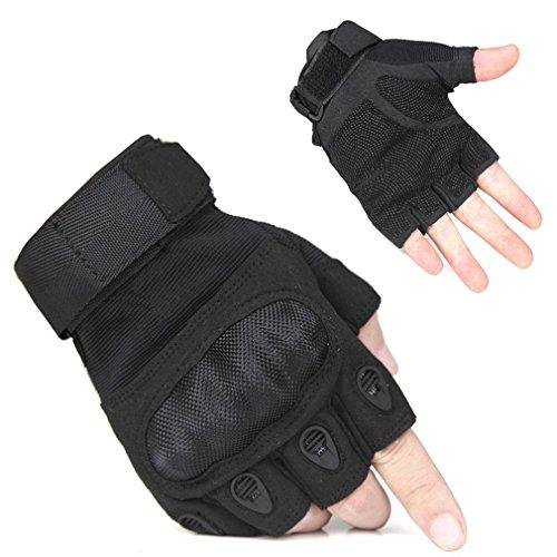 FreeMaster guanti senza dita da uomo per sport all'aperto, lavoro, campeggio, escursionismo, corsa...