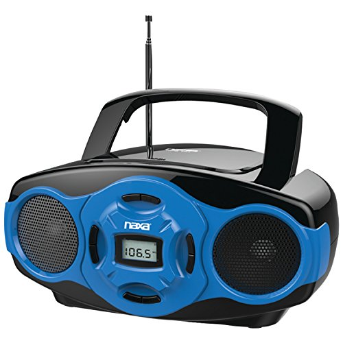 Naxa MP3/CD Mini Boombox and USB Player- Blue