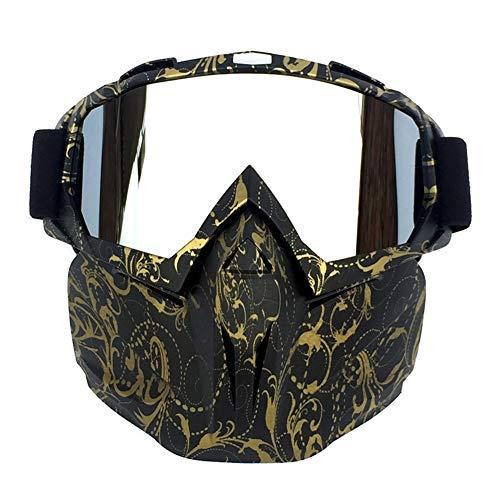 Occhiali da neve antivento Maschera Occhiali da sci Protezione UV Anti-Fog Occhiali da neve Per uomo...