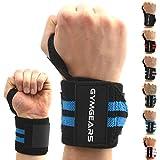 Handgelenkbandage [2er Set] Wrist Wraps 45 cm - Profi Bandagen für Kraftsport, Bodybuilding, Powerlifting, CrossFit & Fitness