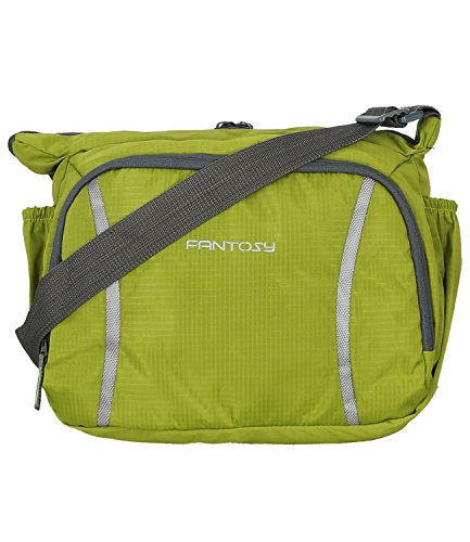 Fantosy men Green polyester slingbag (MB-004)