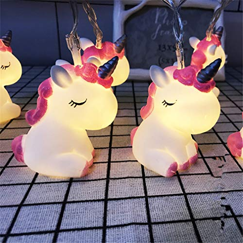 Catena luminosa a LED a forma di animale, a batteria, per giardino, alberi, terrazze, Natale,...