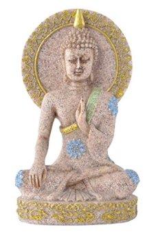 Desconocido Piedra Arenisca Tallada A Mano Abstracta Decoración Escultura Estatua Estatuilla De Buda En Casa