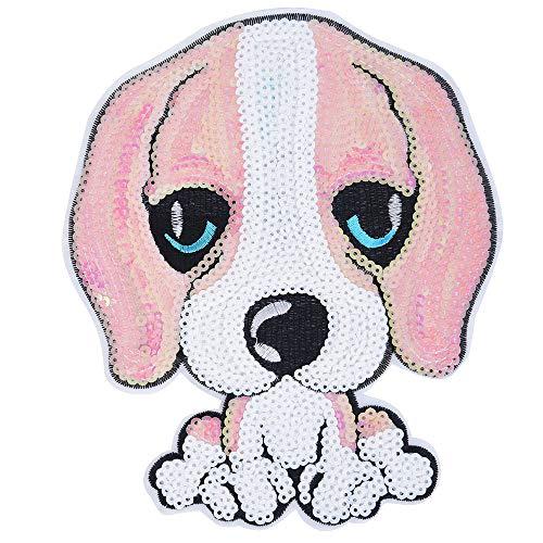 YA-Uzeun, toppe da applicare con ferro da stiro, fai da te, motivo: animali, Green, pinkdog