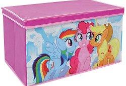 *FUN HOUSE 712520 My Little Pony Coffre à Jouets Pliable pour Enfant Intissé 55,5 x 34,5 x 34 cm Vente