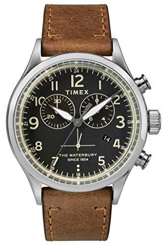 Timex Herren Chronograph Quartz Uhr Waterbury Traditional