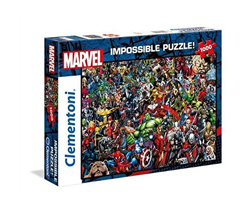 Clementoni Marvel Impossible Puzzle, 1000 Pezzi, 39411