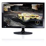 Samsung Monitor S24D330 Monitor Computer 24'' Full HD, 1920 x 1080, 60 Hz, 1 ms, Game Mode, D-sub, Cavo HDMI Incluso, Nero
