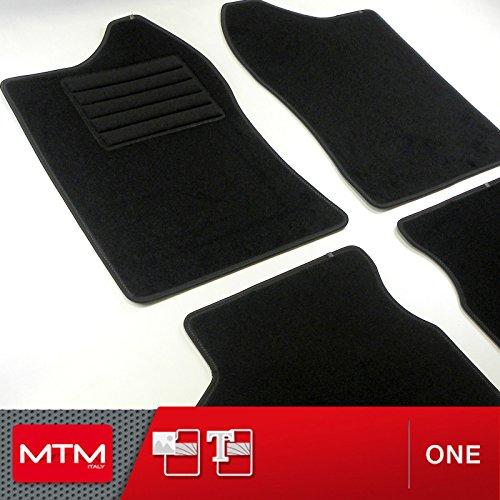 MTM Tappetini Jimny dal 1998- su Misura Come Originali in Velluto, Battitacco in Moquette, Bordo...