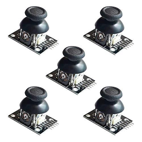 This is PS2 joystick gioco Module per Arduino. modulo sensore asse gioco joystick PS2 consiste nell'utilizzare sistema PS2 joystick potenziometro originale del metallo di qualità Per la (X, Y) un'uscita analogica 2 assi e pulsante canale di u...