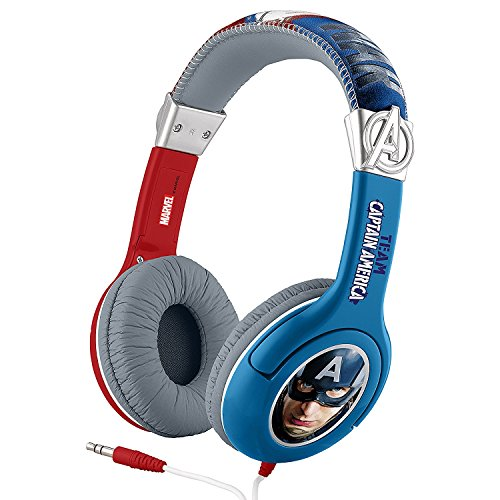 Auriculares para Niños Guerra Civil Capitán América Hombre de Hierro ...