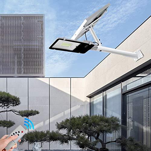 SOLIGHTS LED Lampione Stradale,Impermeabile IP65 Luci Solari Esterno 40W~400W,con Telecomando E...