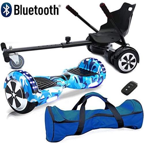 Nero Sport Bluetooth 6.5' Hoverboard Balance Scooter Board Bilanciamento Automatico con Combinazione...