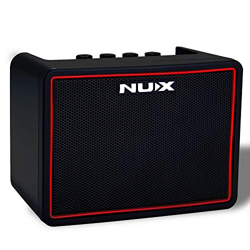 Asmuse Bluetooth Speaker Wireless Guitar Amplifier Practice 3W Mini Combo Portable Multifunction Bass Guitar Ampli