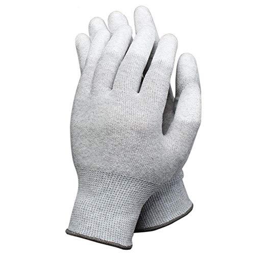 1paio di guanti antistatici per PC computer elettronica ESD Safe grande lavoro guanti antiscivolo...
