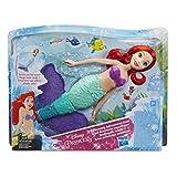 Disney Princesses - Poupee Electronique - Princesse Disney Ariel Nage Enchantée - 34 cm