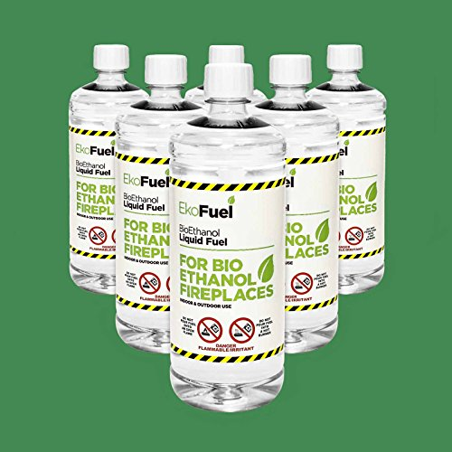 6L Premium BIOETHANOL Fuel for Fires, Free Delivery to Mainland UK for Orders Placed Before 3pm. 5,600 Ebay Reviews. Bio Ethanol Liquid Fuel for bioethanol Fires. 3.98/Litre