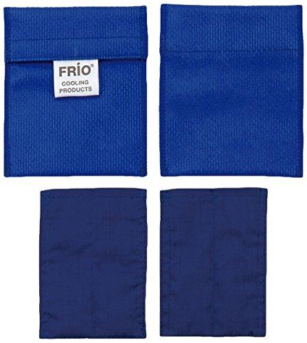 Frio una coppia di mini dispositivo di raffreddamento per l'insulina, 7 x 10 cm, blu