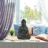 relaxdays buddha figur meditierend