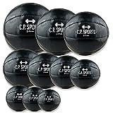 Medizinball K5, Gewichtsball, Medizinbälle, Crossfit Ball - Erhältlich: 1kg - 10kg (2-KG-schwarz)