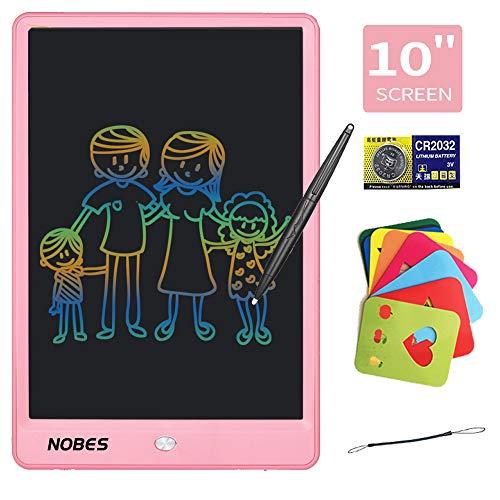 NOBES Tavoletta LCD da Disegno 10 Pollici Colorato Tavoletta Grafica Scrittura Tablet LCD eWriter,...