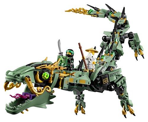 LEGO Ninjago - Dragón mecánico del Ninja Verde (70612) - MUNDO FRIKI ...