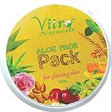 Vitro Aloe Face Pack 100 gm Set of (1)
