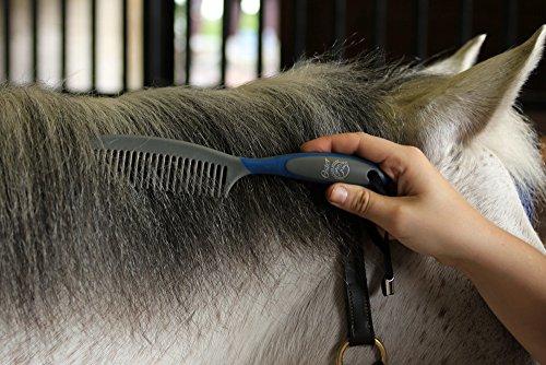 Oster - 78399-310 - Set de soins pour chevaux - 7 pièces - Bleu 26