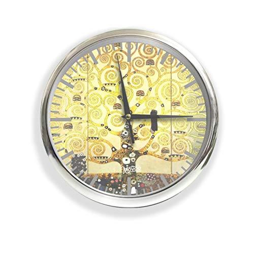 Movoo Design Orologio da Parete Made in Italy - Klimt Albero della Vita