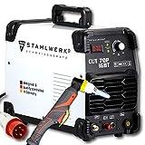 STAHLWERK CUT 70 P IGBT Plasmaschneider mit 70 Ampere, Pilot-Zündung, bis 25 mm Schneidleistung, für Flugrost geeignet, weiß, 5 Jahre Garantie*