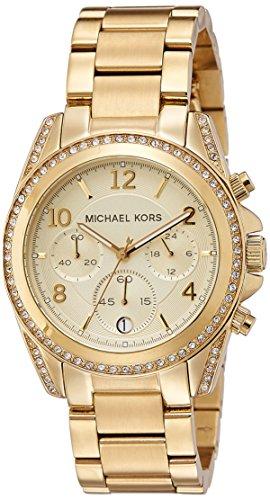 Michael Kors Reloj analogico para Mujer de Cuarzo con Correa en Acero Inoxidable SO-1643-LQ