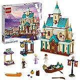 LEGO-Disney PrincessTM Le château d'Arendelle  Issu du Film la Reine des Neiges 2 de Disney Jouet Fille et Garçon 6 Ans et Plus, 521 Pièces 41167