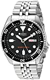 Seiko Mens Analogue Classic Automatic Watch with Stainless Steel Strap SKX007K2