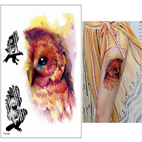 tzxdbh 3 Pezzi-Schizzo Fiore Tatuaggio Schizzo Disegno Tatuaggio Impermeabile trasferimento Tatuaggio Adesivo Fiore peonia Rosa Adesivo