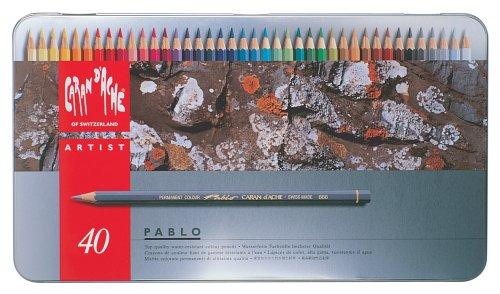 Caran d-Ache PABLO laápiz de color 1 pieza(s) Multi - Lápiz de color (1 pieza(s), Multi, Suave, Madera, Multicolor, 3,8 mm)