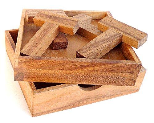 Logica Giochi art. 4T PUZZLE - 5 GIOCHI IN 1