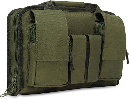 normani Taktische Pistolentasche Pistol Case Gun Rug, Small (34 x 9 x 22 cm) Farbe Oliv