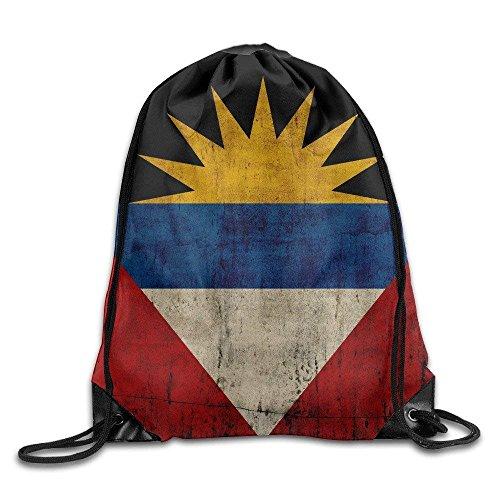 Etryrt Zaino con Coulisse,Borse Sacca,Sacchetto Basic Flag of Antigua And Barbuda Drawstring...
