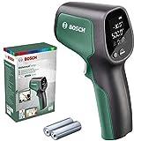 Bosch UniversalTemp - Termómetro Infrarrojo, Rango de Temperatura de -30°C a +500°C, 2 Pilas AA, en Caja
